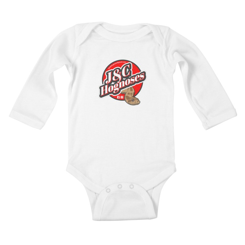 J&C Hognose Kids Baby Longsleeve Bodysuit by Drawn to Scales