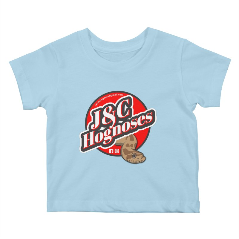 J&C Hognose Kids Baby T-Shirt by Drawn to Scales
