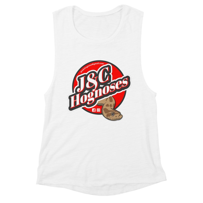 J&C Hognose Women's Muscle Tank by Drawn to Scales