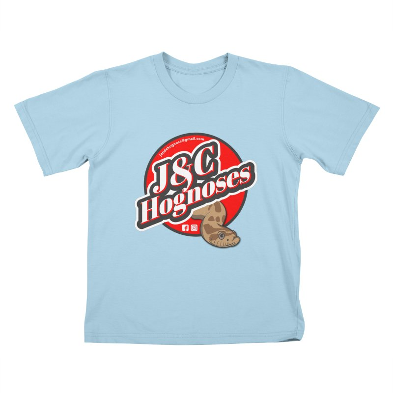 J&C Hognose Kids T-Shirt by Drawn to Scales