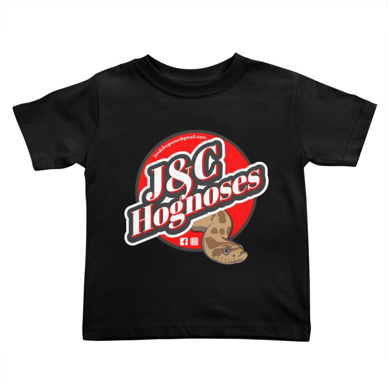 J&C Hognose Kids Toddler T-Shirt by Drawn to Scales