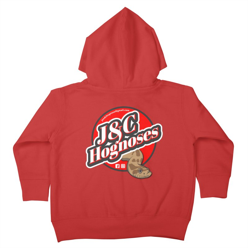 J&C Hognose Kids Toddler Zip-Up Hoody by Drawn to Scales