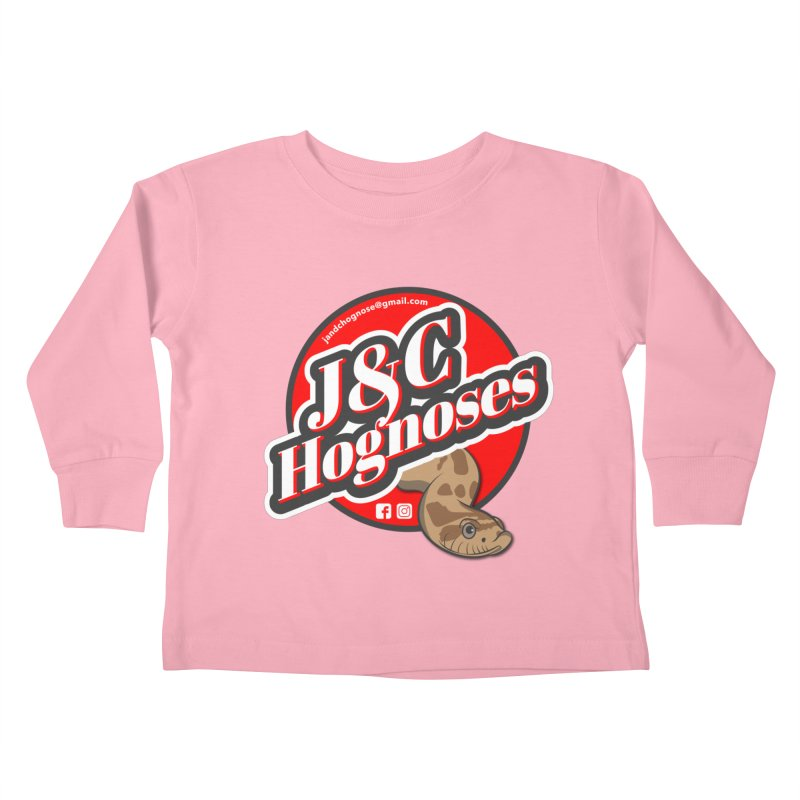 J&C Hognose Kids Toddler Longsleeve T-Shirt by Drawn to Scales