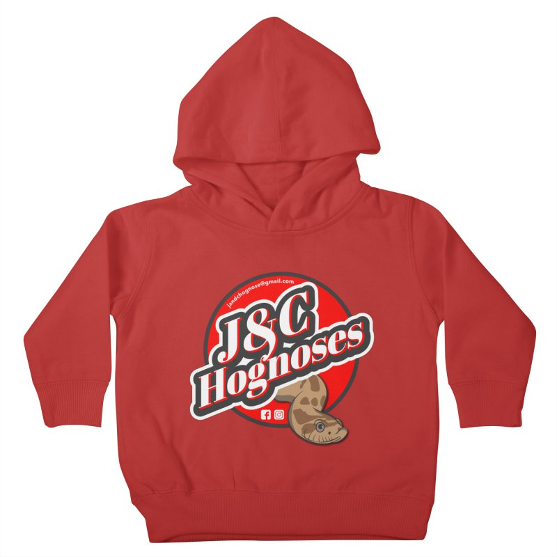 J&C Hognose Kids Toddler Pullover Hoody by Drawn to Scales