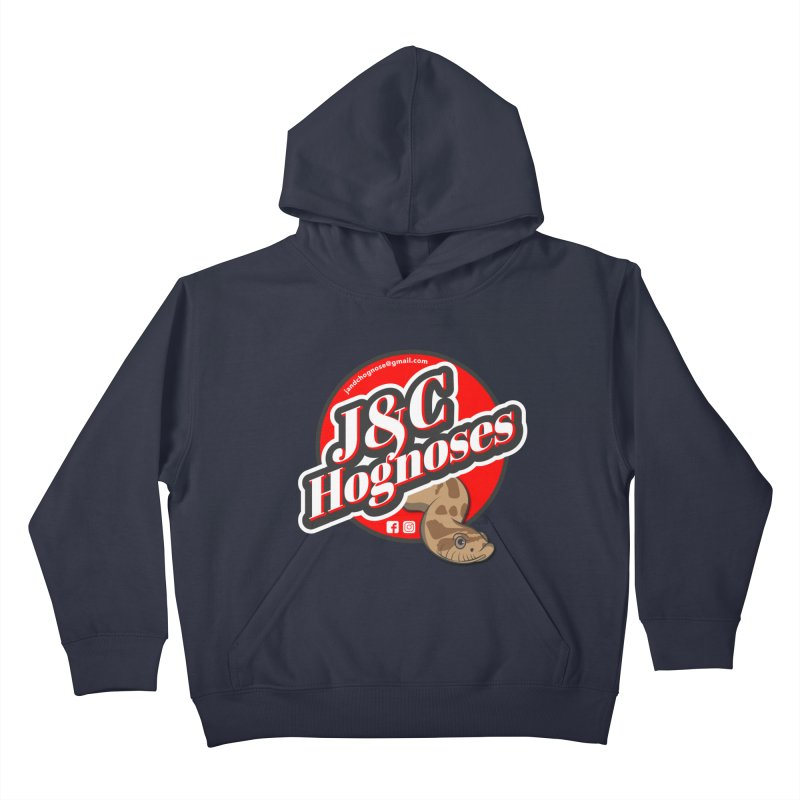 J&C Hognose Kids Pullover Hoody by Drawn to Scales