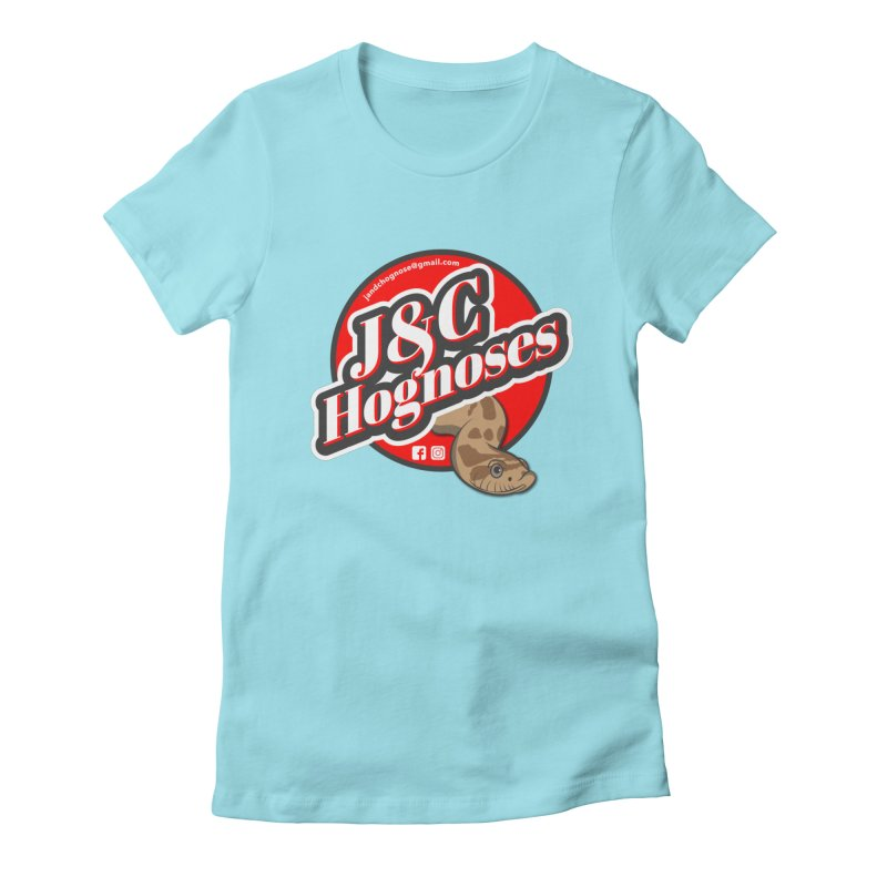 J&C Hognose Women's Fitted T-Shirt by Drawn to Scales
