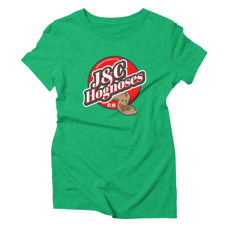J&C Hognose Women's Triblend T-Shirt by Drawn to Scales
