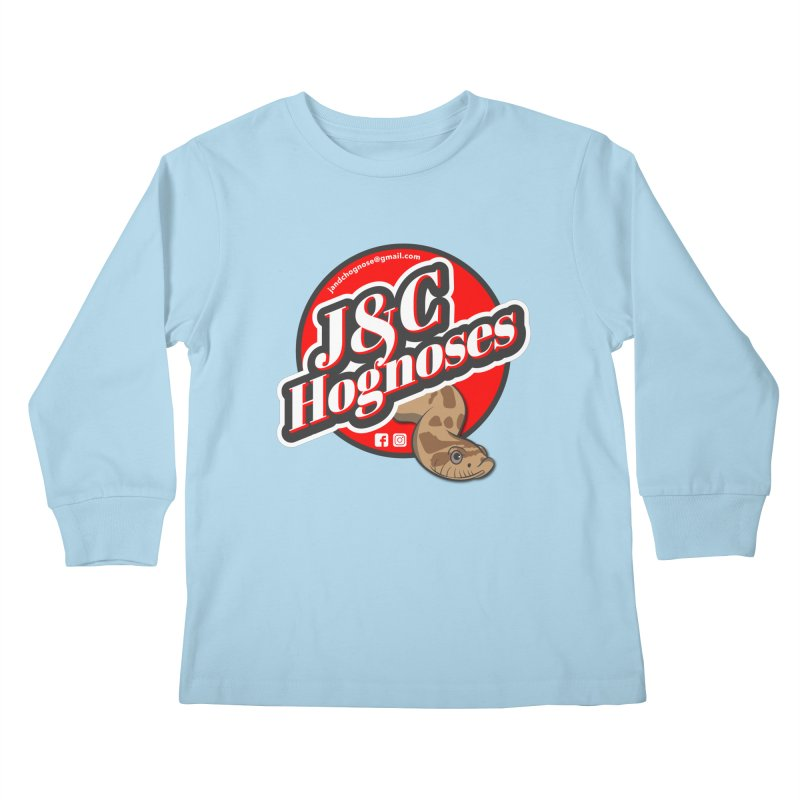 J&C Hognose Kids Longsleeve T-Shirt by Drawn to Scales