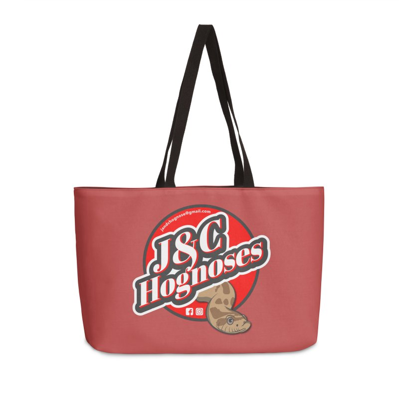 J&C Hognose Accessories Weekender Bag Bag by Drawn to Scales