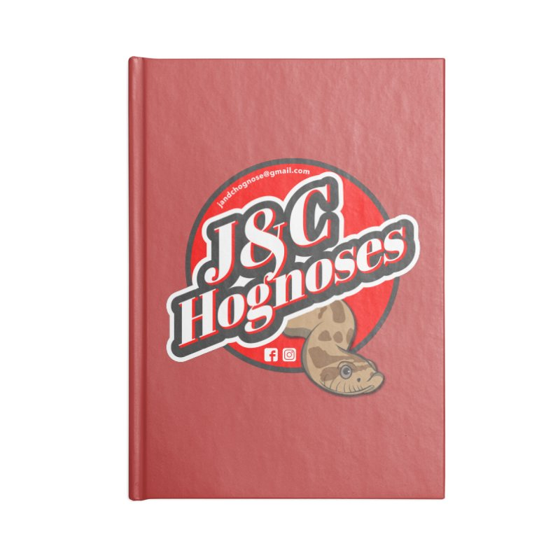 J&C Hognose Accessories Lined Journal Notebook by Drawn to Scales