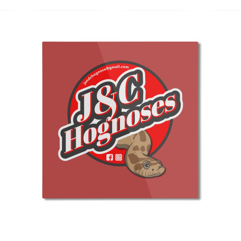 J&C Hognose Home Mounted Aluminum Print by Drawn to Scales