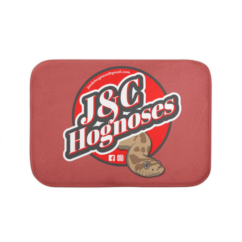 J&C Hognose Home Bath Mat by Drawn to Scales