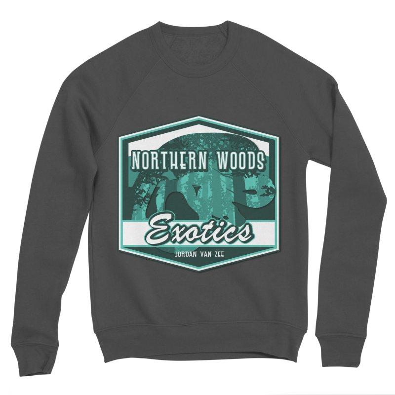 Northern Woods Exotics Men's Sponge Fleece Sweatshirt by Drawn to Scales