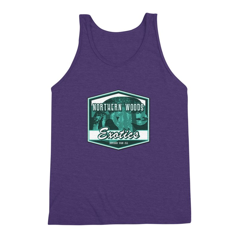 Northern Woods Exotics Men's Triblend Tank by Drawn to Scales