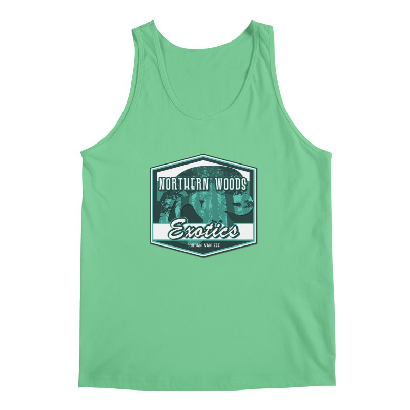 Northern Woods Exotics Men's Regular Tank by Drawn to Scales
