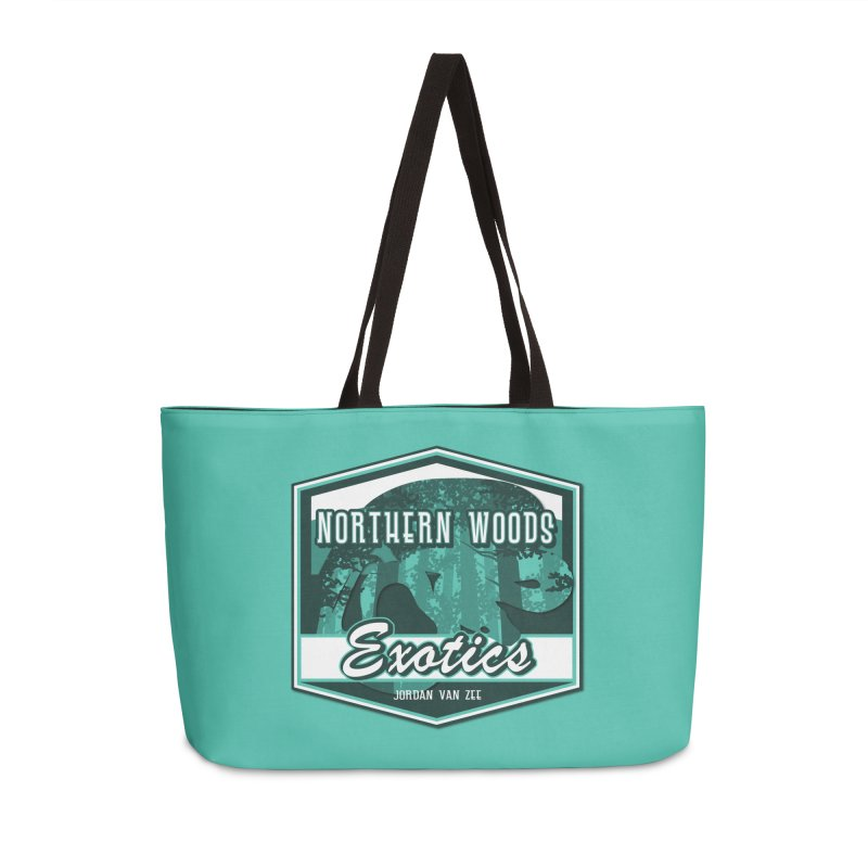 Northern Woods Exotics Accessories Weekender Bag Bag by Drawn to Scales