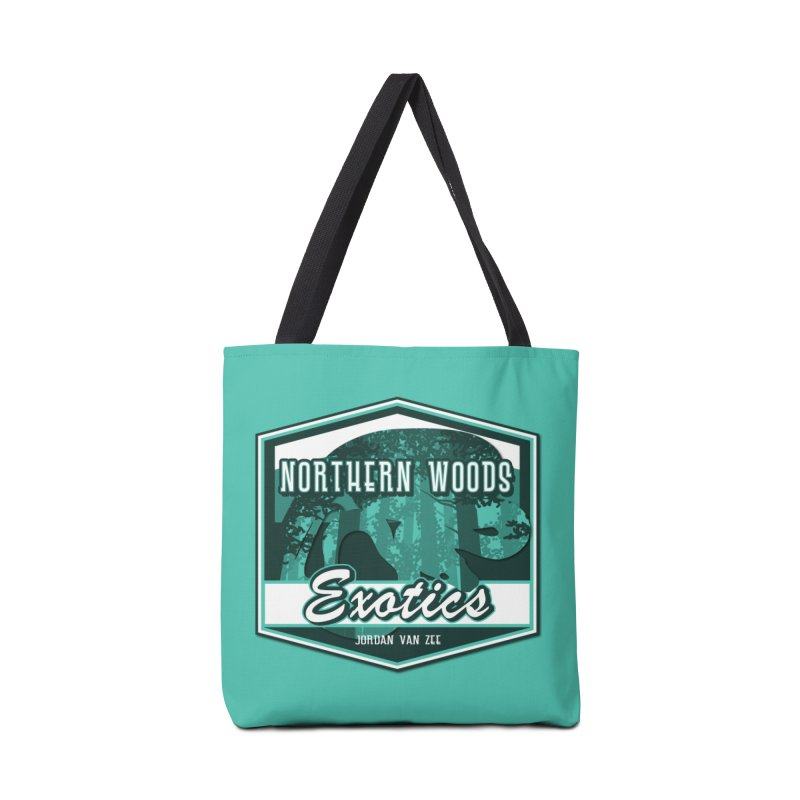 Northern Woods Exotics Accessories Tote Bag Bag by Drawn to Scales