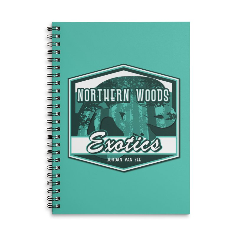 Northern Woods Exotics Accessories Notebook by Drawn to Scales