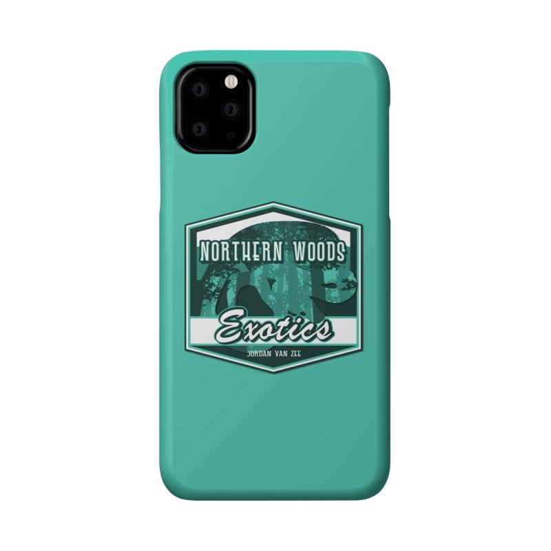 Northern Woods Exotics Accessories Phone Case by Drawn to Scales