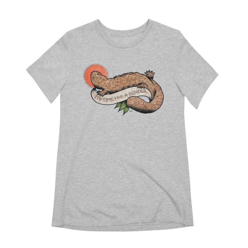 It's Time for a Bender Women's Extra Soft T-Shirt by Drawn to Scales