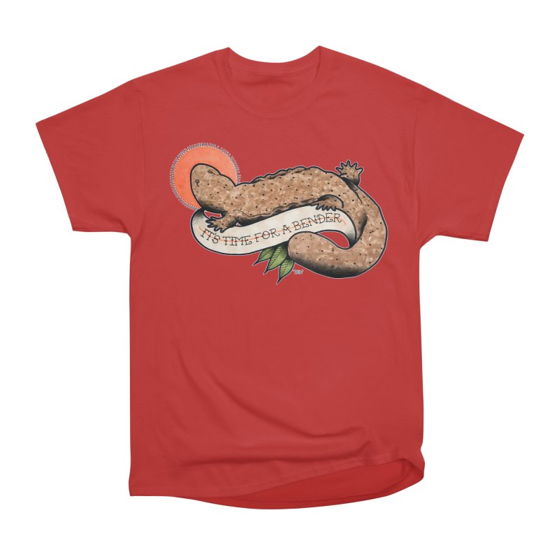 It's Time for a Bender Men's Heavyweight T-Shirt by Drawn to Scales