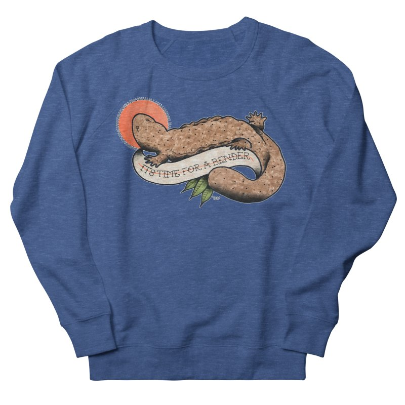 It's Time for a Bender Men's French Terry Sweatshirt by Drawn to Scales
