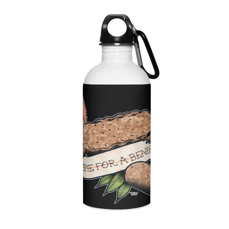 It's Time for a Bender Accessories Water Bottle by Drawn to Scales