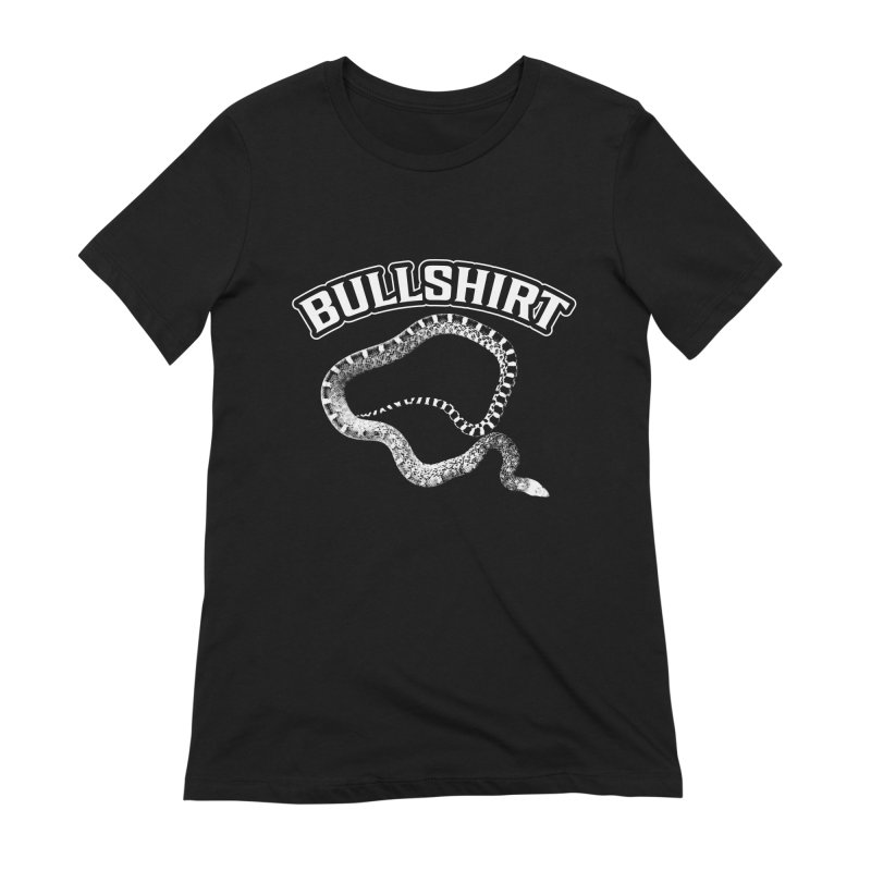 BULLSHIRT Women's Extra Soft T-Shirt by Drawn to Scales