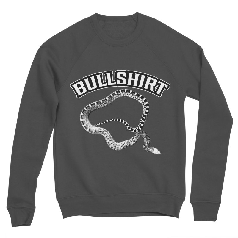 BULLSHIRT Men's Sponge Fleece Sweatshirt by Drawn to Scales