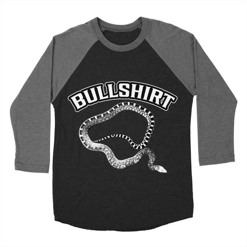 BULLSHIRT Women's Baseball Triblend Longsleeve T-Shirt by Drawn to Scales