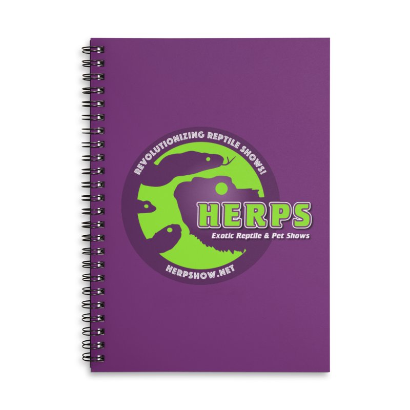 HERPS Accessories Notebook by Drawn to Scales