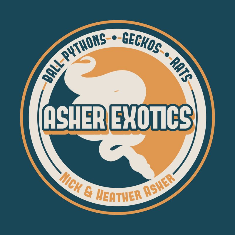 Asher Exotics Accessories Notebook by Drawn to Scales