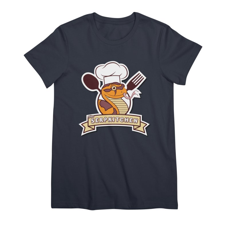 The SerpKitchen Women's Premium T-Shirt by Drawn to Scales