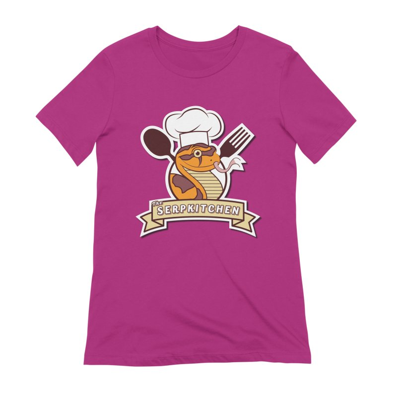 The SerpKitchen Women's Extra Soft T-Shirt by Drawn to Scales