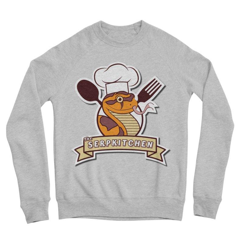 The SerpKitchen Men's Sponge Fleece Sweatshirt by Drawn to Scales