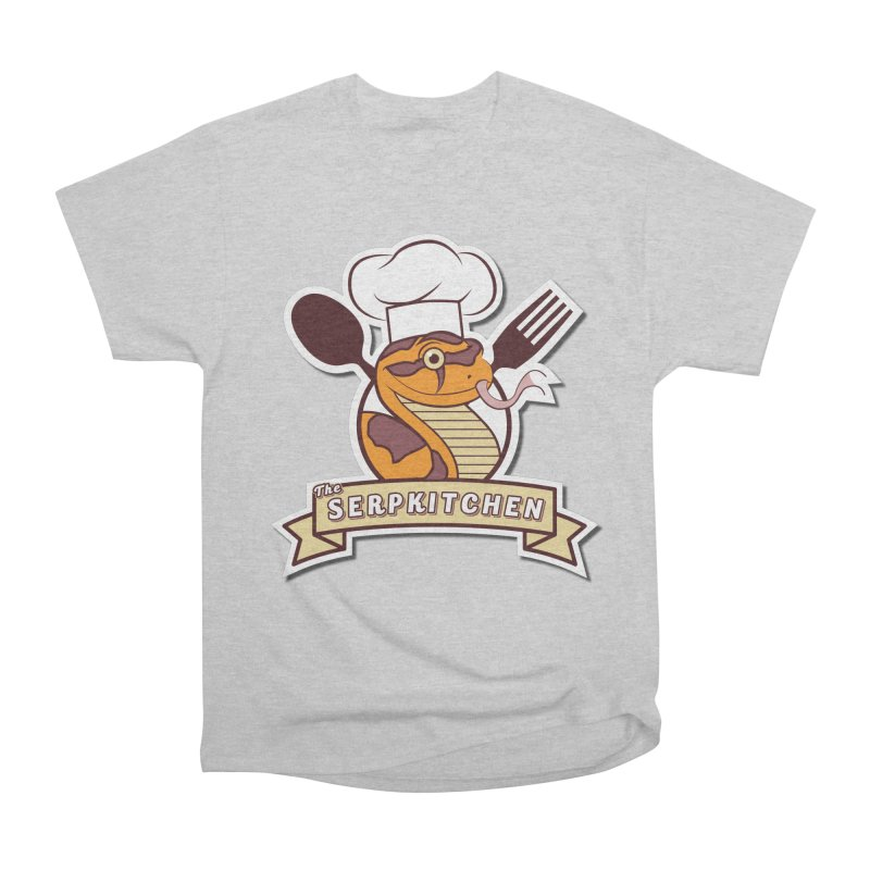 The SerpKitchen Men's Heavyweight T-Shirt by Drawn to Scales