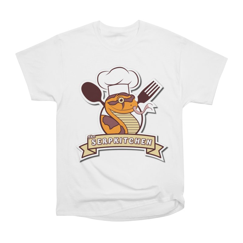 The SerpKitchen Women's Heavyweight Unisex T-Shirt by Drawn to Scales