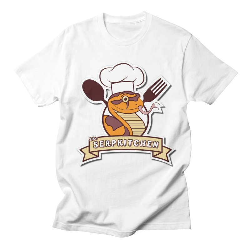 The SerpKitchen Men's Regular T-Shirt by Drawn to Scales