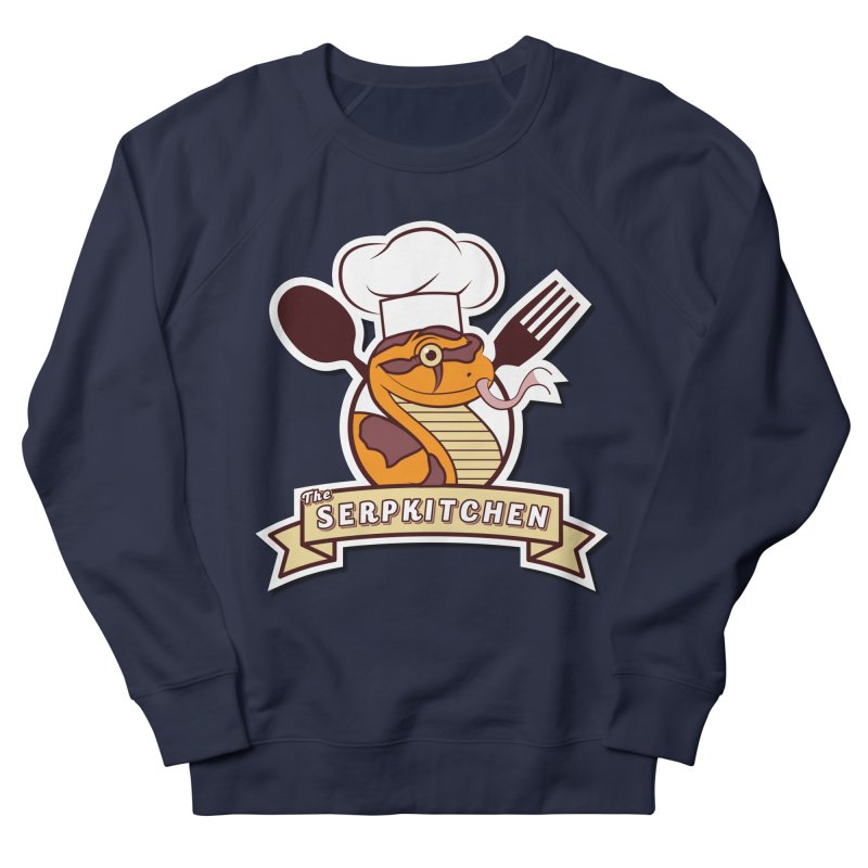The SerpKitchen Women's French Terry Sweatshirt by Drawn to Scales