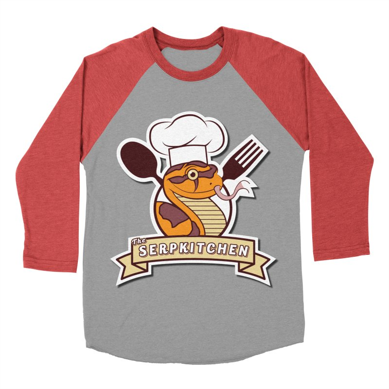 The SerpKitchen Women's Baseball Triblend Longsleeve T-Shirt by Drawn to Scales
