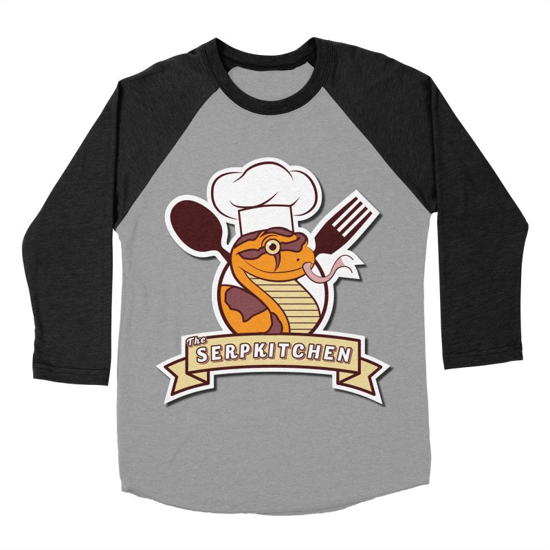 The SerpKitchen Men's Baseball Triblend Longsleeve T-Shirt by Drawn to Scales