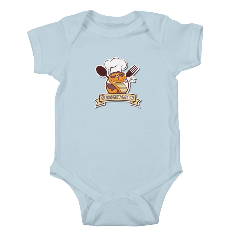 The SerpKitchen Kids Baby Bodysuit by Drawn to Scales