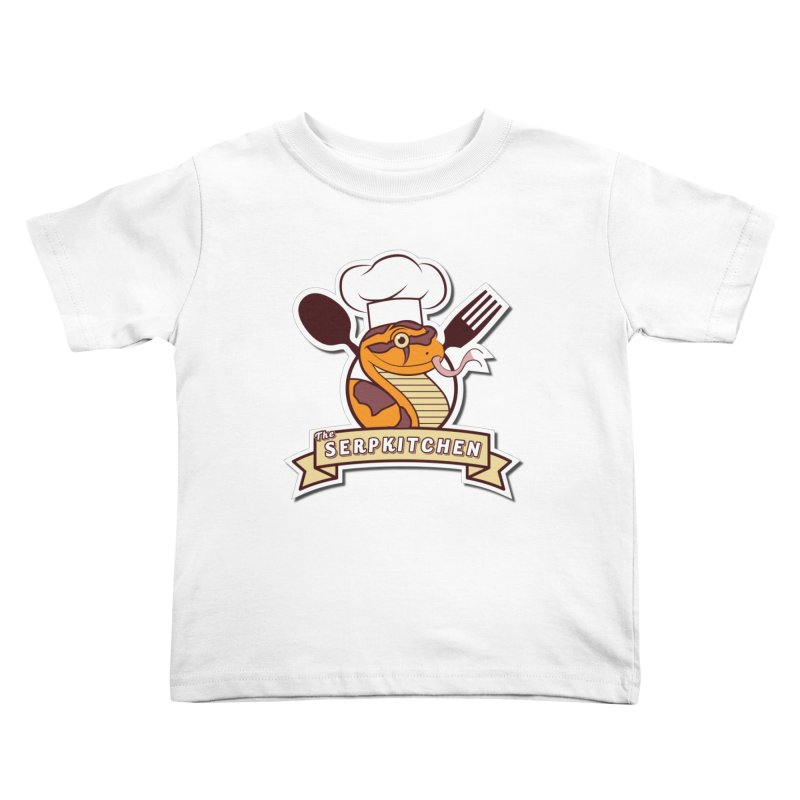 The SerpKitchen Kids Toddler T-Shirt by Drawn to Scales