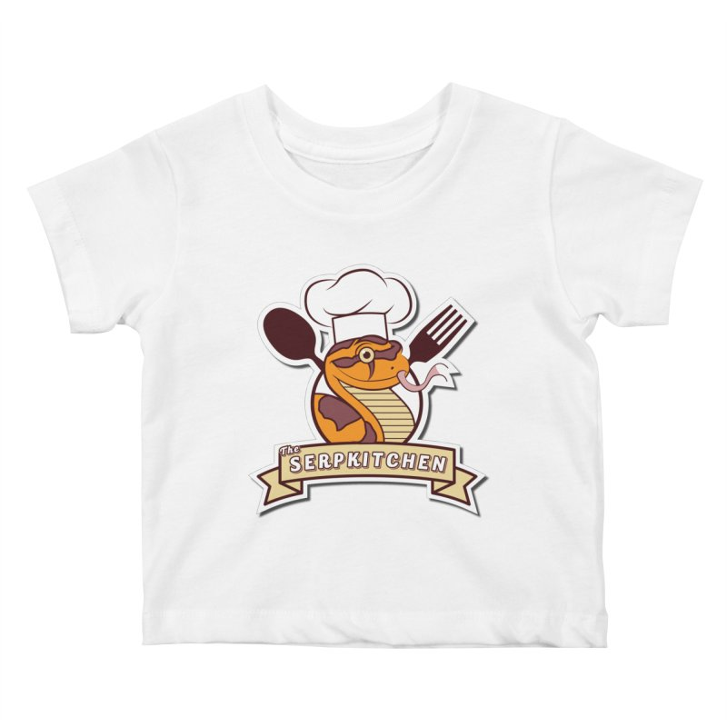 The SerpKitchen Kids Baby T-Shirt by Drawn to Scales
