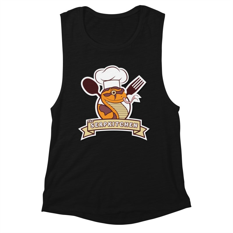 The SerpKitchen Women's Muscle Tank by Drawn to Scales