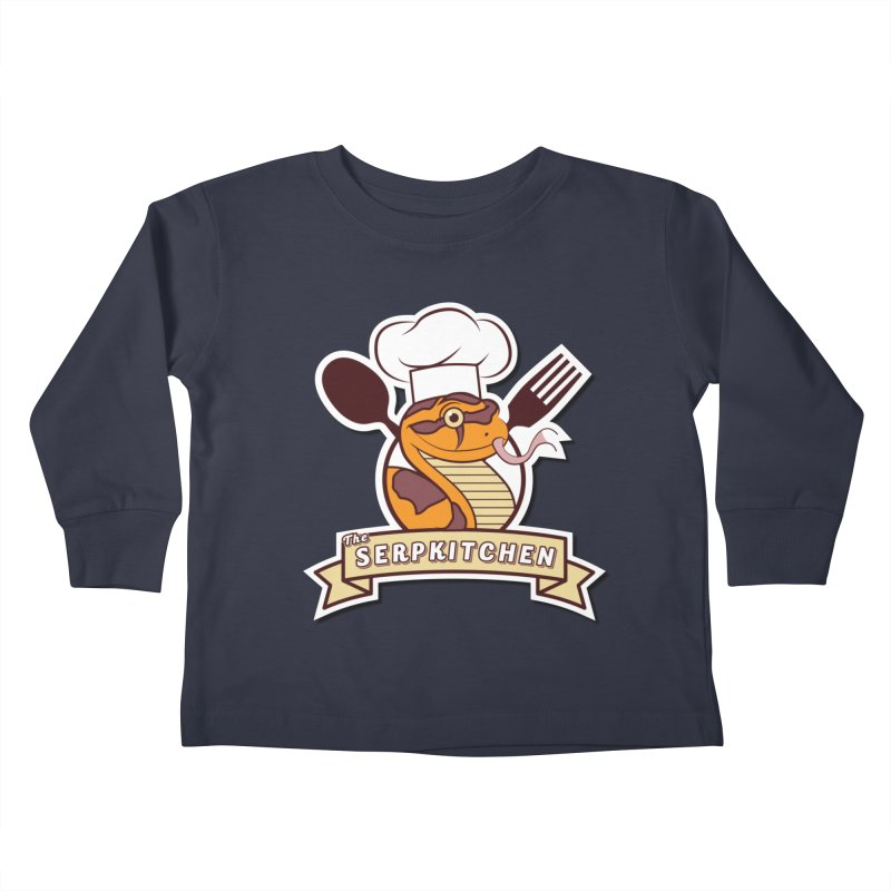The SerpKitchen Kids Toddler Longsleeve T-Shirt by Drawn to Scales
