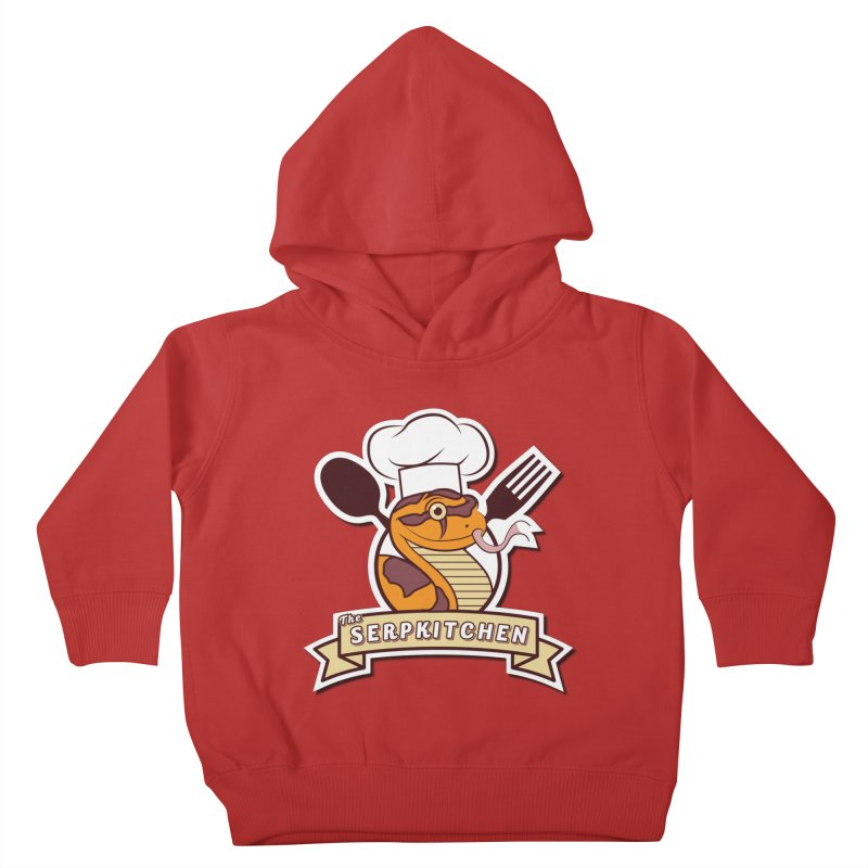 The SerpKitchen Kids Toddler Pullover Hoody by Drawn to Scales