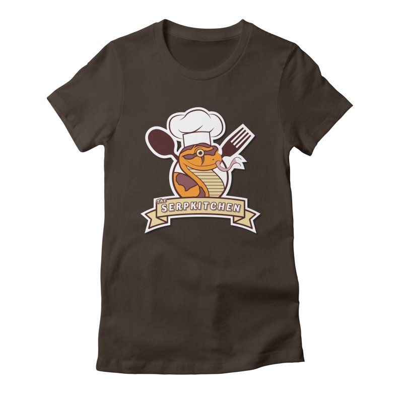 The SerpKitchen Women's Fitted T-Shirt by Drawn to Scales