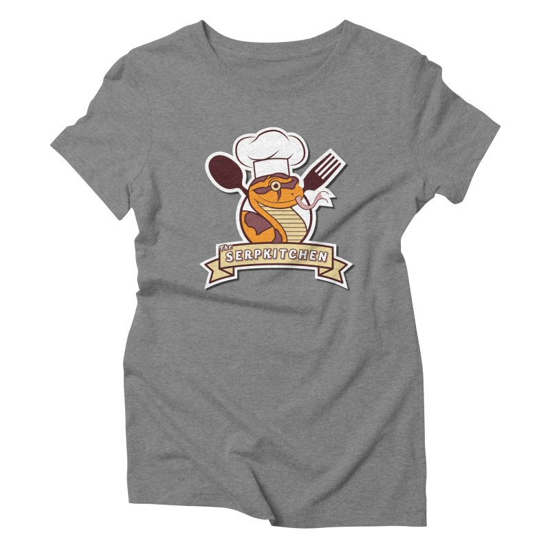 The SerpKitchen Women's Triblend T-Shirt by Drawn to Scales