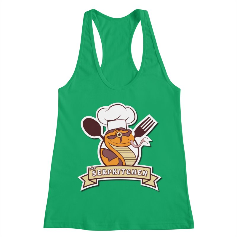 The SerpKitchen Women's Racerback Tank by Drawn to Scales